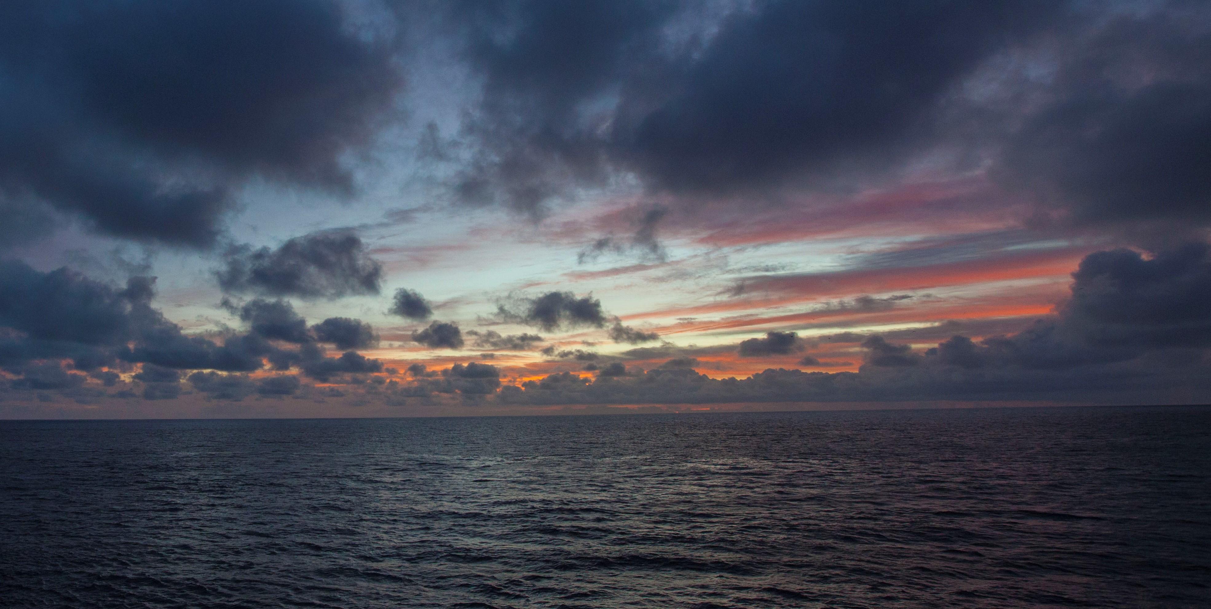 Sunset sky (NASA)