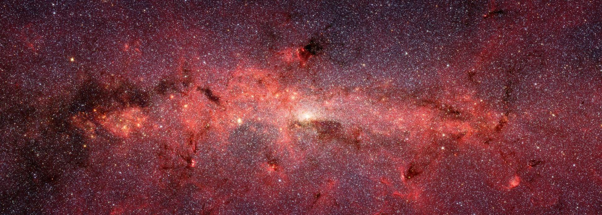 A Cauldron of Stars at the Galaxy Center (NASA)